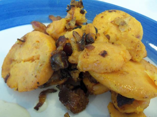 Yummy Bacon Sweet Potatoes