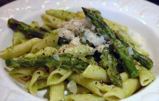 Penne With Asparagus-lemon Sauce