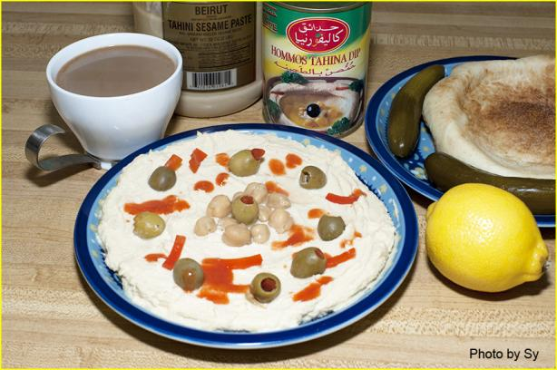 Hummus, Already Prepared (Canned) by Sy