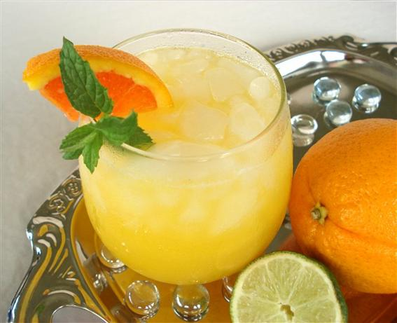 Orange Lime Fizz