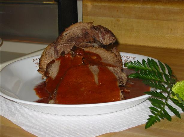 Barbecued Roast Beef