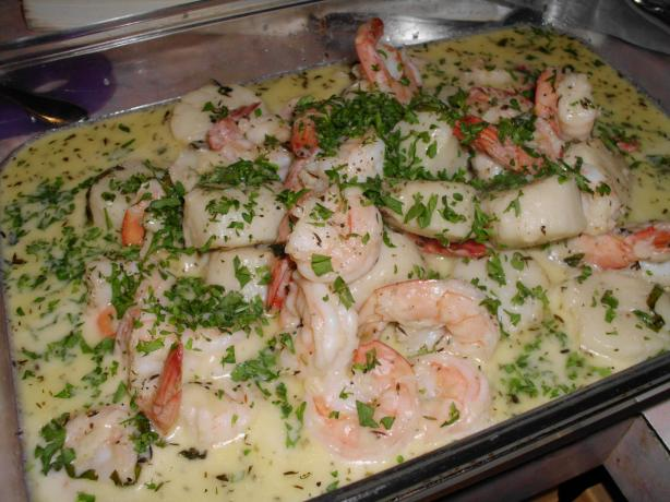 Mixed Seafood Saute