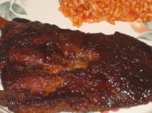 "Bar ""b"" Barn Ribs"