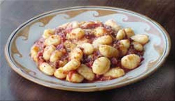 Veronica's Homemade Gnocchi (Italian potato dumplings)