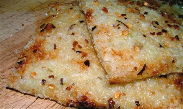 Garlic-Cheese Toast...yum!