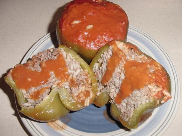 Sally's Stuffed Bell Peppers