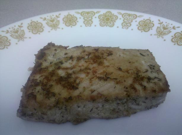 Sweet Spice-Rubbed Swordfish