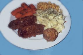 Speidini Di Carne E Funghi (Sicilian Kebobs - Meat and Mushroom)
