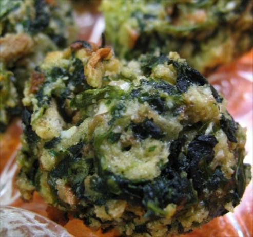 Spinach Balls (appetizer)