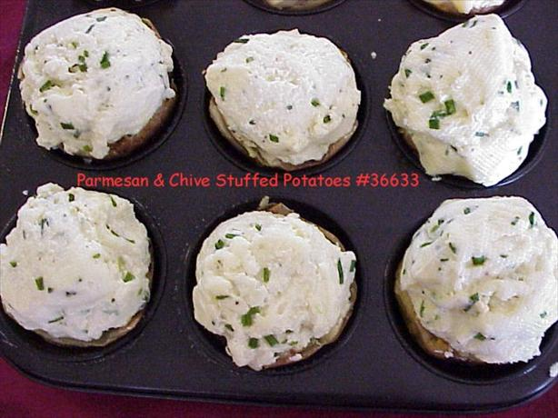 Parmesan & Chive Stuffed Potatoes