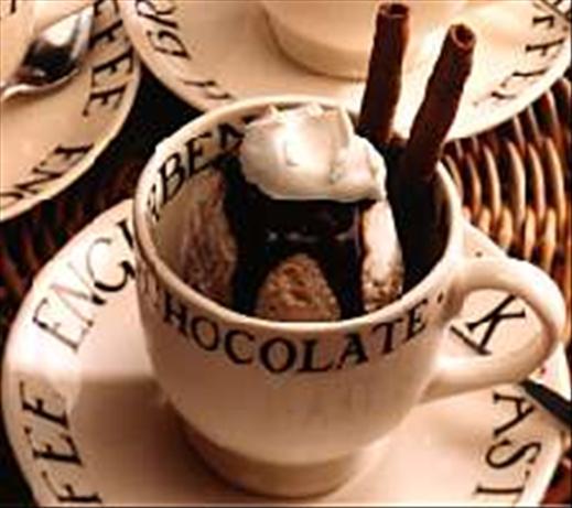 Guilt Free Cappuccino Sundaes