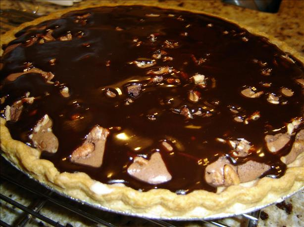 Cream Cheese Fudge Brownie Pie
