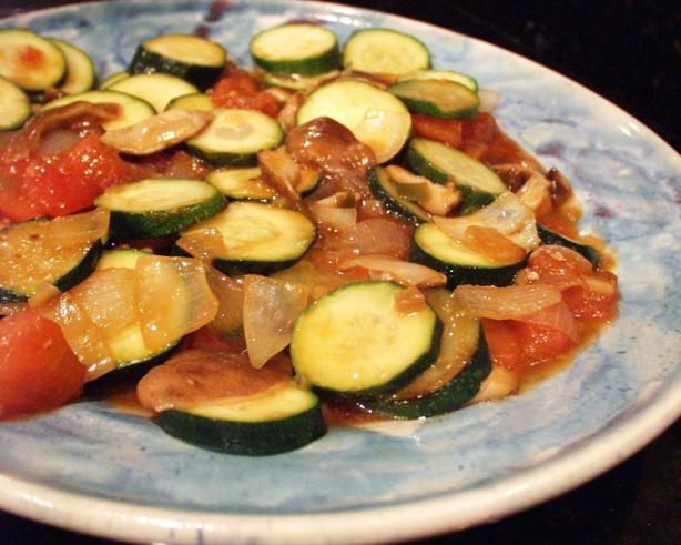 Stir-Fried Zucchini, Shanghai Style