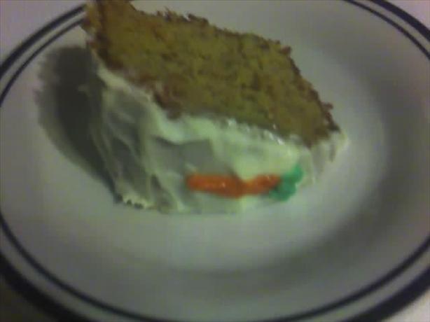 Freeman Allen's Carrot Cake