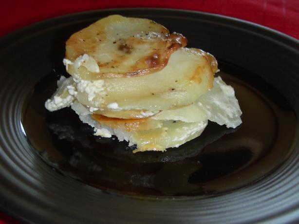 Potato Gratin with Boursin