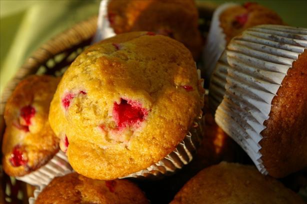 Cranberry Citrus Muffins