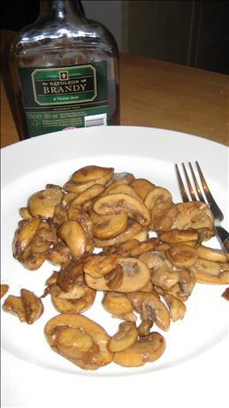 Tipsy Mushrooms (with Brandy)