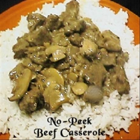 No-Peek Beef Casserole