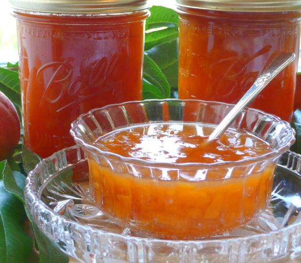 Peachy Vanilla Jam