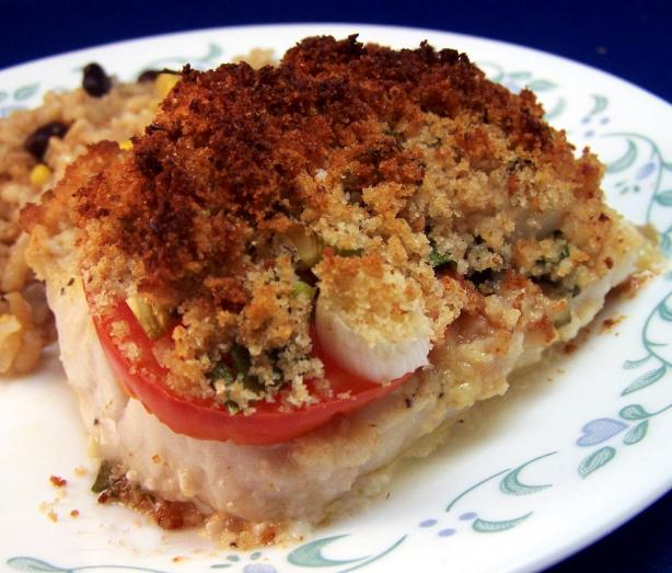 Tomato-Crowned Cod