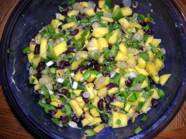 Fruit & Black Bean Salsa
