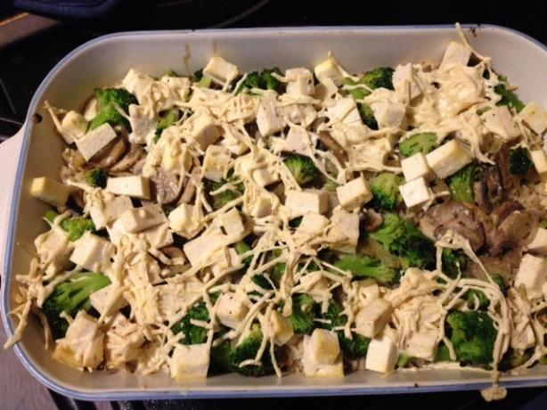 Tofu Casserole With Mushrooms