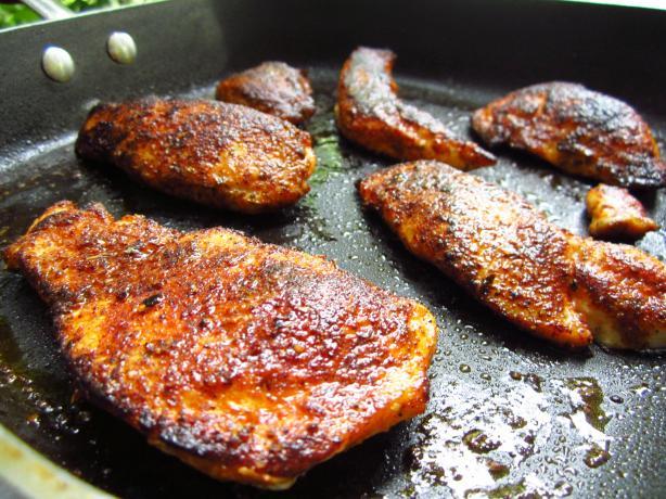 Blackened Chicken Bites