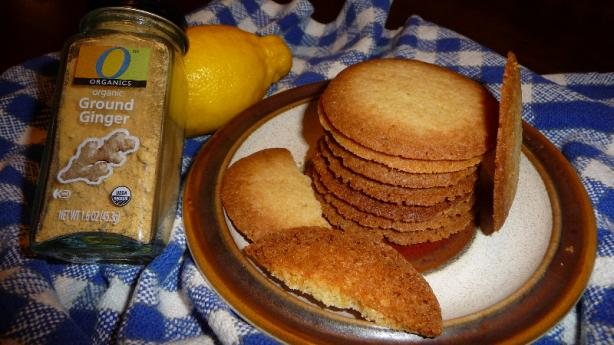 Ginger-Lemon Cookies