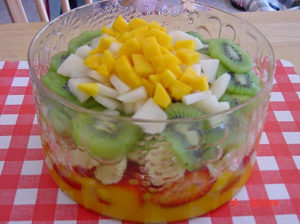 Mango Velvet Layered Salad