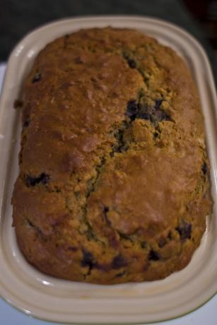 Oatmeal BlueBerry Bread