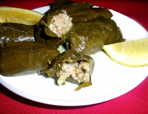 SWISS CHARred By GREEK Dolmades