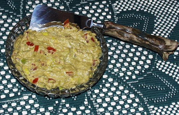 Asparagus Guacamole