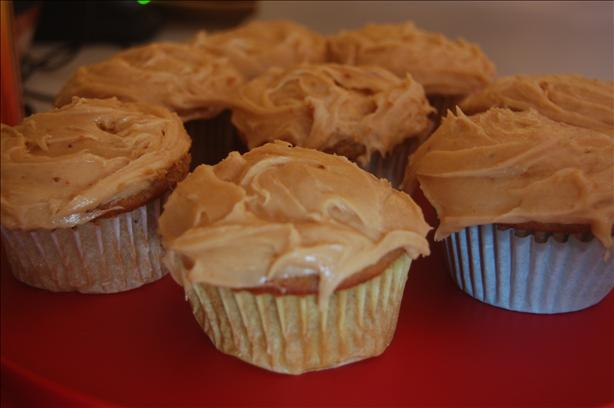 Peanut Buttery Cupcakes