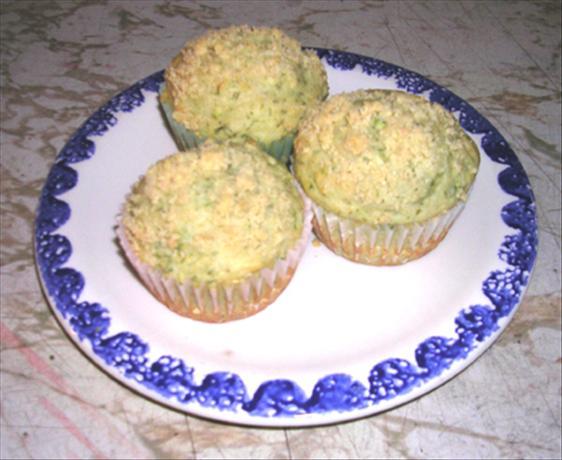 Dill Zucchini Muffins