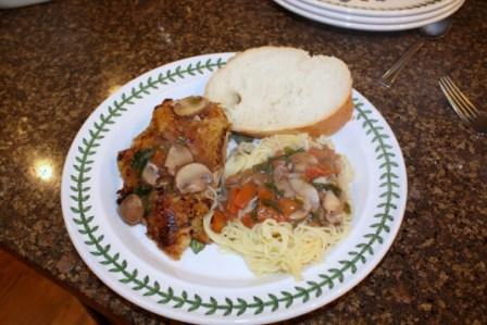 Amerigo's Chicken Tuscany