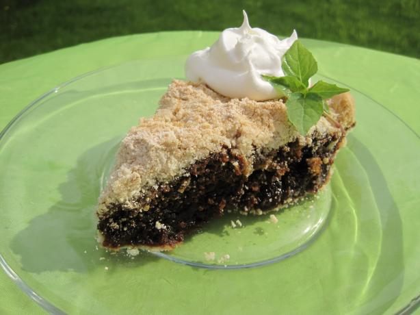 Horse & Buggy Wet Bottom Shoo-Fly Pie