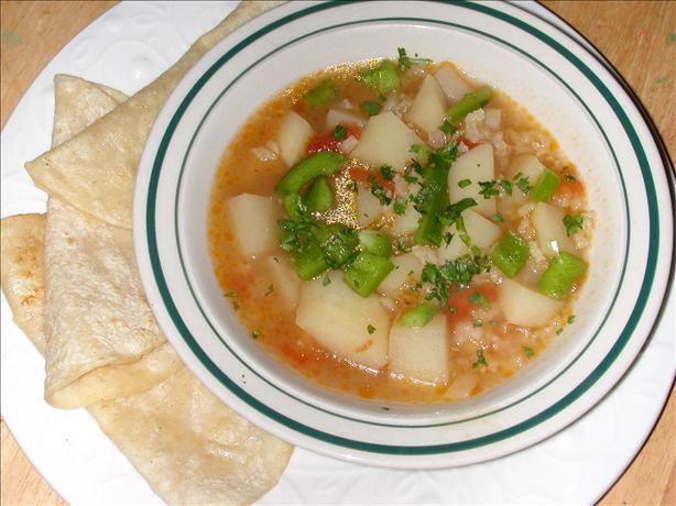 Canary Island Cilantro Soup