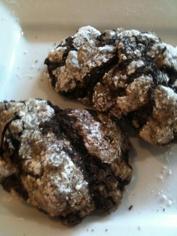 Chocolate Earthquake Cookies