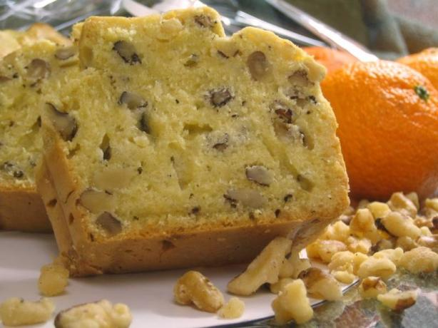 Orange Walnut Bread