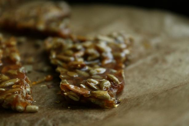 Sunflower Seed Brittle