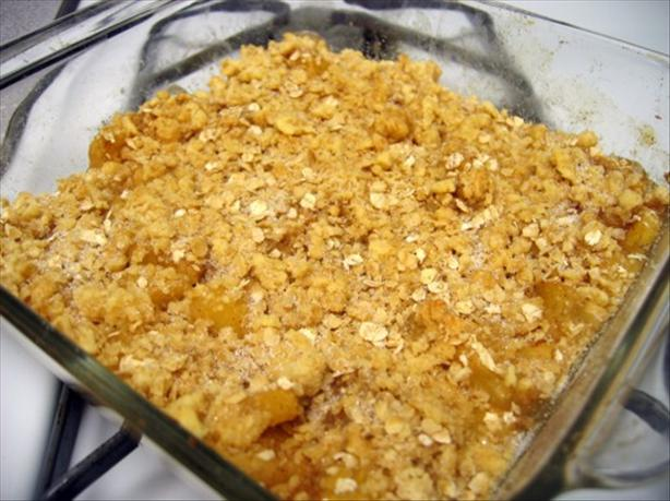E.Z Apple Crumble