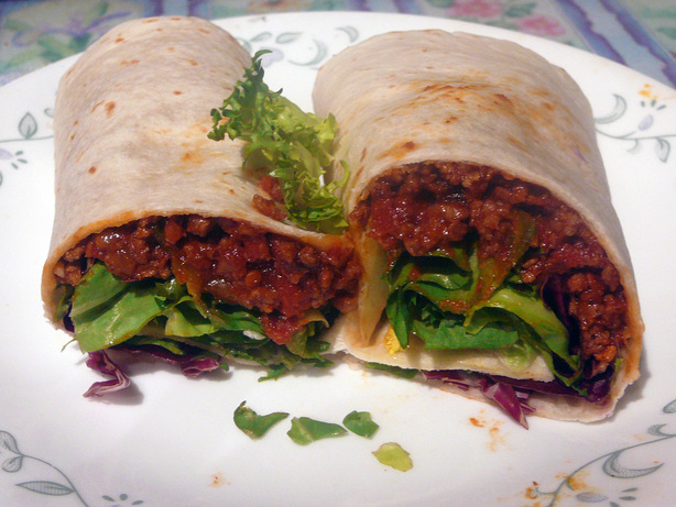Sloppy Jose Wraps