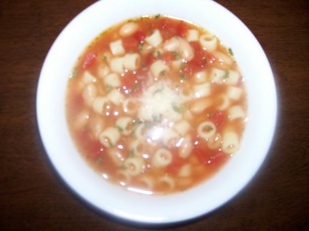 Italian Pasta and Beans (Pasta Faggioli)