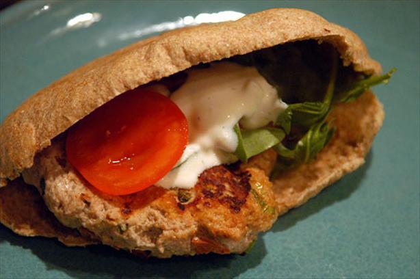 Chicken Pita Burger