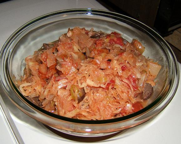Baked Sauerkraut