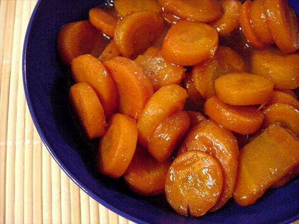 Kahlua Carrots