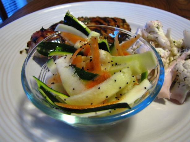 Carrot-Zuke Salad