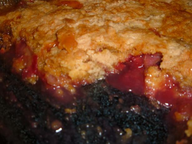Rhubarb Crisp (Easy!)