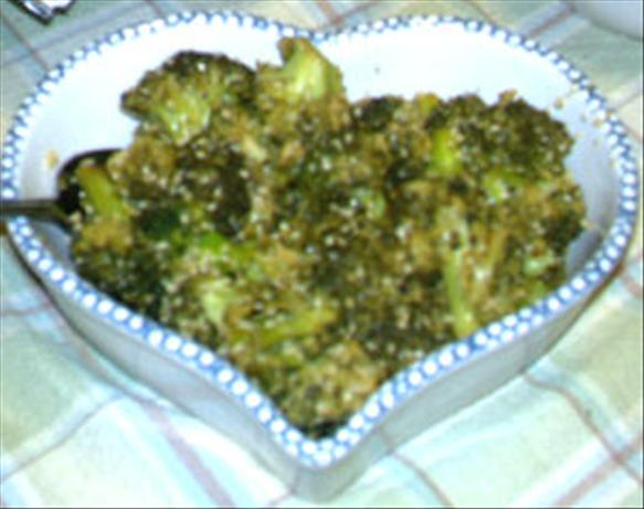 Roasted Broccoli Sesame Salad