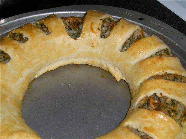 Tuna Ring With Cheese Sauce